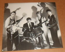 Talking Heads 1986 Poster Original Promo 19x19 Black & White
