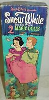 Vintage Disney Snow White and The Prince Magic Paper Dolls in Box 1967 Whitman