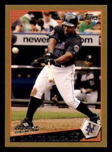 2009 Topps GOLD #135 Carlos Delgado #ed/2009 New York Mets
