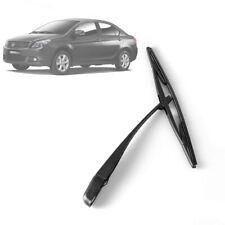 Black Peugeot 206 207 Upgrade Rear Window Windshield Wiper Arm Blade Set