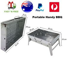 Portable Outdoor Charcoal Wood Steel Grill BBQ Camping Picnic Hunting Barbecue