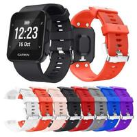 Classic Soft Silicone Replacement Watch Band for Garmin Forerunner 35 with Tool