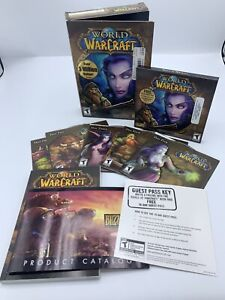 Blizzard ~ World of Warcraft PC Game 2004 Complete