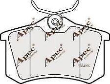 PAD1190 APEC BRAKE PADS FRONT AUDI CITROEN RENAULT SEAT