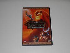 Walt Disneys THE LION KING Platinum Edition Movie 2 Disc DVD Set VAULT 2003 OOP