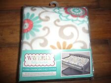 NEW NWT Waverly Pom Pom Play Plush Changing Pad Cover. Brand New VERY PRETTY