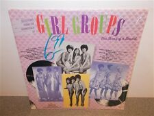 Girl Groups . The Story Of A Sound . Shangrilas . Supremes . Marvelettes . LP