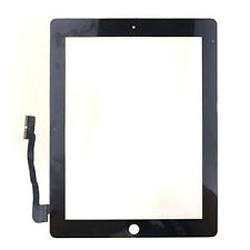 Touch Screen Glass Digitizer Lens Replacement For Apple iPad 3 4 3rd Gen Black