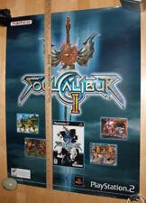 Soul Calibur II Heihachi Official Promo Poster Namco XBox Rare Marketing Tekken