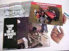 4 Case  & Case IH Items, Maxxum Postcard, Magnum Tractors, Credit, Etc        b4