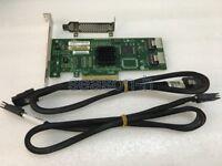 LSI  SAS 3081E-R 3Gb/s 8 Port 1068E Host  Controller Card PCI-E+8087 to SFF-8087