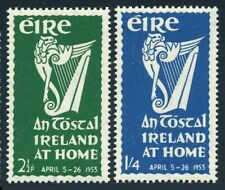 Ireland 147-148,lightly hinged.Michel 116-117. National Festival An Tostal,1953.