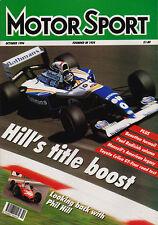 Motor Sport Oct 1994 - Italian Grand Prix, Luigi Chinetti, Phil Hill on Ferrari