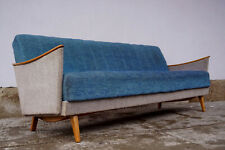 60er Vintage Daybed Mid-Century Sofa Retro Club Couch Lounge Schlafsofa Danish 2