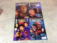 DEEP SPACE NINE STAR TREK NEXT GENERATION #1,2,1,2 LOT COMIC NM 94/95 DC/MALIBU