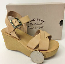 KORK-EASE WOMAN'S LEATHER WEDGE SANDAL - MINI SALESMAN SAMPLE w/ SHOE BOX