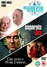 Mrs Henderson Presents/Separate Lies/Girl With A Pearl Earring (DVD, 2007) NEW