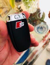 2x Audi S-Line Aufkleber für Schlüssel A3 A4 A5 A6 A7 A8 RS TT Q7 Emblem Logo S