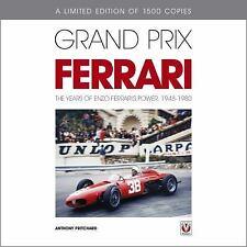 GRAND PRIX FERRARI - NEW HARDCOVER BOOK