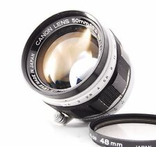 Canon 50mm f/1.4 Lens For Leica Screw Mount L39 with Filter
