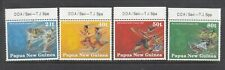 PAPUA NEW GUINEA: 1991 South Pacific Games set of 4 SG 651/4 MUH.