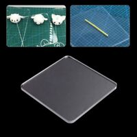Acrylic Transparent Clay Pottery Sculpture Tool Workbench Pressure Plate New