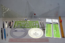 Lot ~ Drafting Tools - Templates - Supplies  ~ architect  engineer