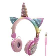 Girls Lovely Wired HeadphoneEarphone Computer Mobile Phone Gamer Headset