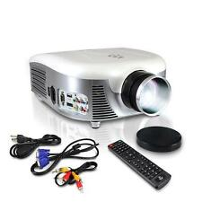 Pyle PRJD907 Widescreen LED Projector With Up To 140-Inch Viewing Screen