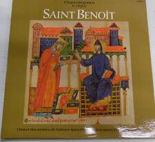 Chant Gregorien & Orgue Saint Benoit 30977 33RPM Record 032017RR