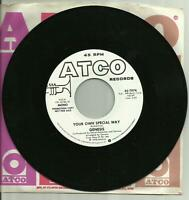 Genesis - Your Own Special Way (MONO & STEREO) US 7-INCH ATCO 45 RPM PROMO #7076
