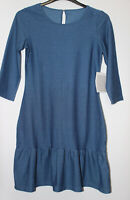 Avon Blue Tunic Dress Size 10-12 New With Tags