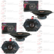 "4 x INFINITY REFERENCE REF8622CFX 6""x 8""/ 5""x 7"" CAR AUDIO 2-WAY COAX SPEAKERS"