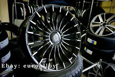 New 4x 21 inch ALPINA Style Rims For BMW 5 7 GT Black Concave Wheels Alloy new