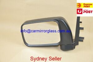 NEW DOOR MIRROR FOR NISSAN PATROL Y61 GU 1997-2014 LEFT(UTE ONLY, NOT FOR WAGON)