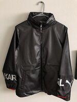 Puma x Karl Lagerfeld Women's Outerwear Mesh Jacket NWT Size Medium MSRP $260