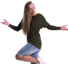 Herbst Damen-Pullover aus Baumwollmischung