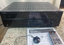 More details for yamaha rx-v667 7.2 av receiver home cinema hdmi arc