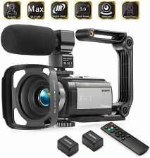 Camcorder Video Vlogging HD Camera HAOHUNT 36MP 1080P Digital Recorder, 16X Zoom