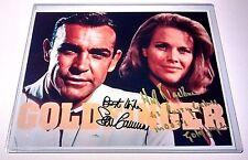 JAMES BOND 007 SEAN CONNERY & HONOR BLACKMAN SIGNED 8x10 GLOSSY PHOTO w/COA RARE
