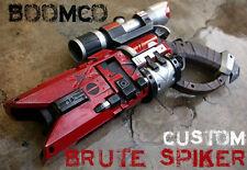 BOOMCO SPIKER PROP GUN + Nerf Scope, New - Custom Painted Halo / Sci-fi Cosplay