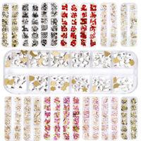 Crystal Rhinestone Diamond Gems 3D Glitter Nail Art Decoration 1Box