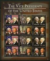 LIBERIA  2018 THE 1st & 2nd VICE PRESIDENTS OF THE UNITED STATES SHEET  MINT NH