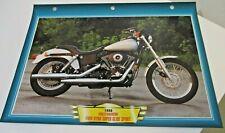A Motor Bike Fact File ~ 1999 Harley-Davidson FXDX Dyna Super Glide Sport