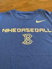 Nike Dri-Fit Shirt ~ Size Youth M ~ Blue ~ Baseball Euc
