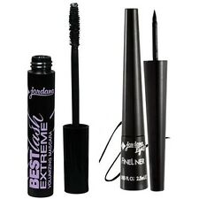 JORDANA Fine Liner Felt Tip Liquid Eyeliner Black and Best LASH EXTREME Mascara
