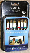 (5-Pack) Sony VMC-CV24T Premium High Definition HD 8 FT Component Video Cable