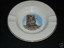 Vintage Whaling New Bedford Whaleman Statue Ashtray