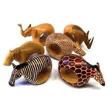Global Crafts Fair Trade Mahogany Animal Napkin Rings