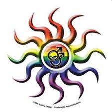 Gay Pride Bumper Sticker Mens Sun